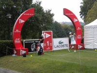 "Arche trou numéro 1 ""LACOSTE Ladies open de france"""