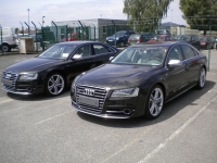 Total covering AUDI S8